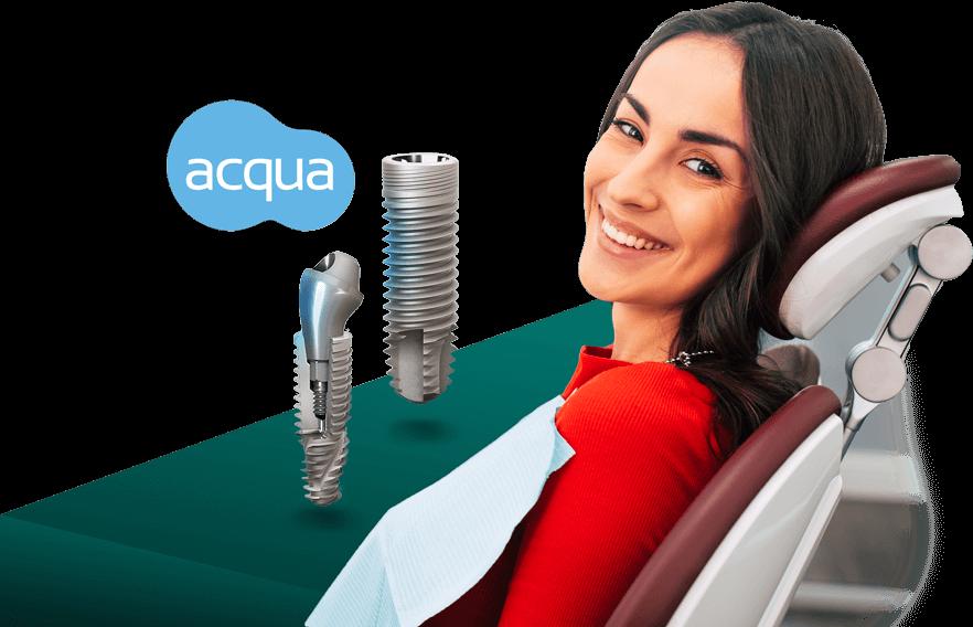 implant dentar neodent acqua, krondent-dent estet